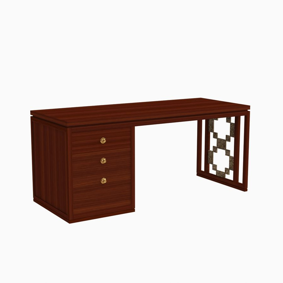 Carta Desk Laura Kirar royalty-free modelo 3d - Preview no. 2