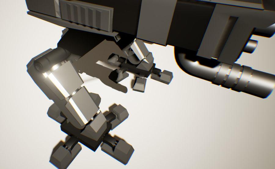 Robot Mech Machine royalty-free 3d model - Preview no. 4