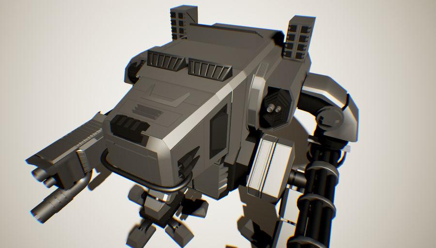 Robot Mech Machine royalty-free 3d model - Preview no. 1