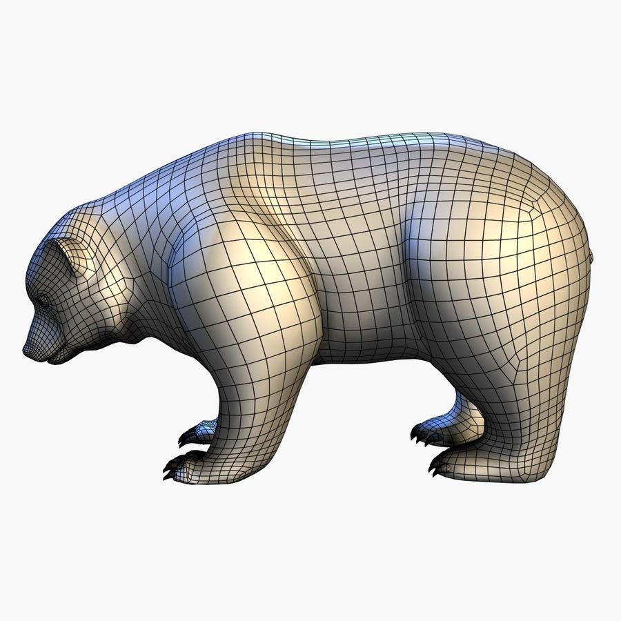 Bear royalty-free 3d model - Preview no. 8