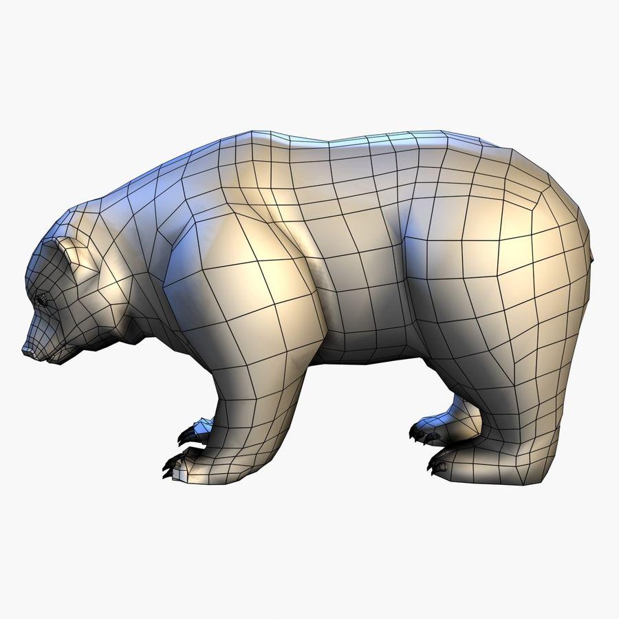 Bear royalty-free 3d model - Preview no. 11