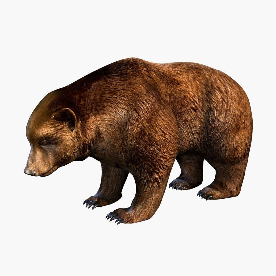 Bear royalty-free 3d model - Preview no. 1