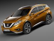 Nissan Murano 2016 3d model