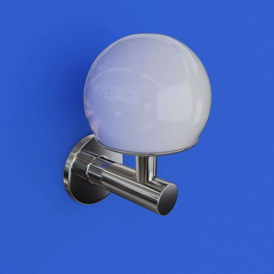 Wall Lamp, Sconce royalty-free 3d model - Preview no. 7