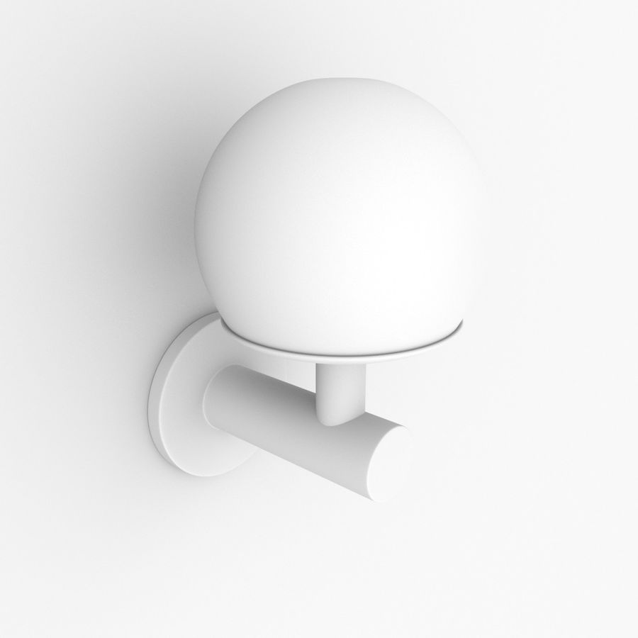 Wall Lamp, Sconce royalty-free 3d model - Preview no. 9