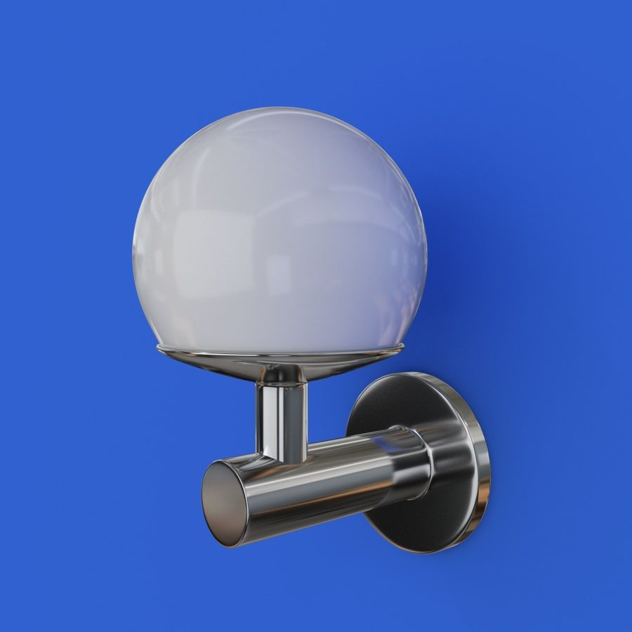 Wall Lamp, Sconce royalty-free 3d model - Preview no. 6