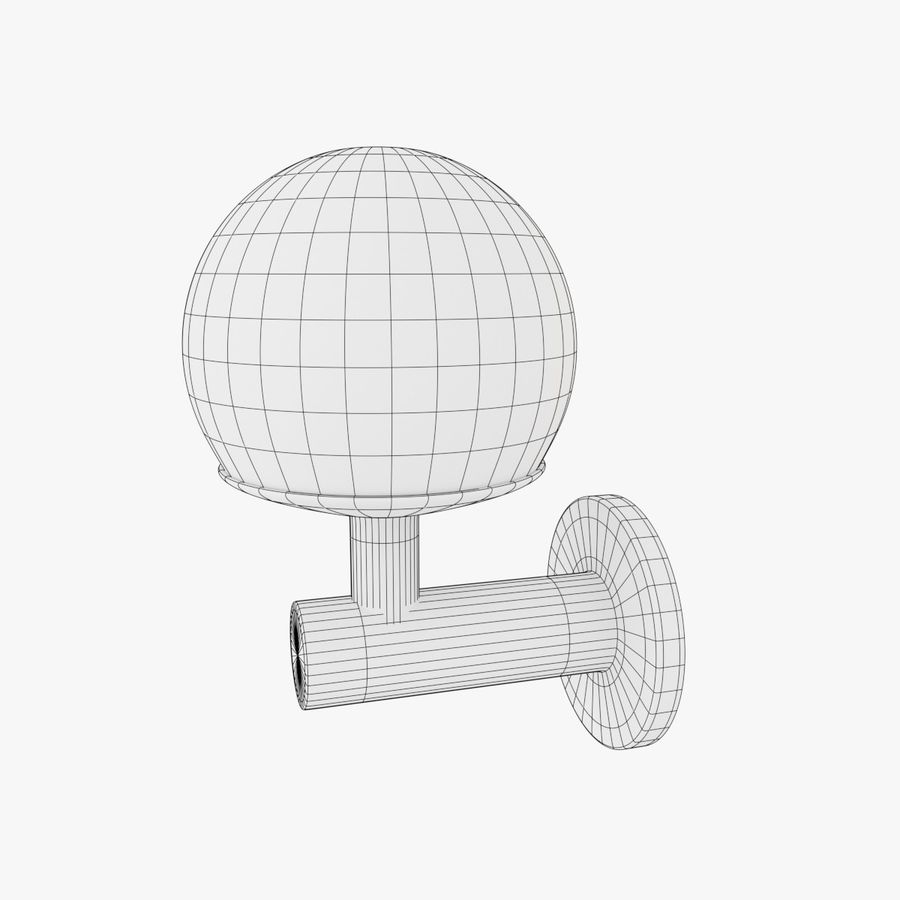 Wall Lamp, Sconce royalty-free 3d model - Preview no. 13