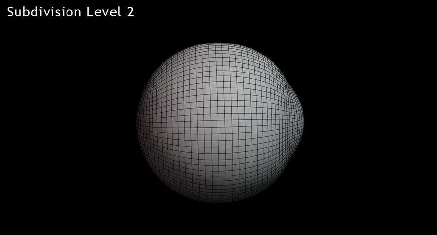 Œil humain royalty-free 3d model - Preview no. 16