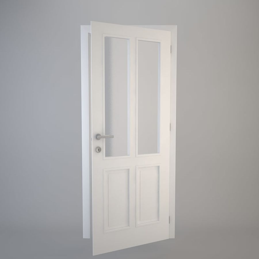 Door 05 royalty-free 3d model - Preview no. 3