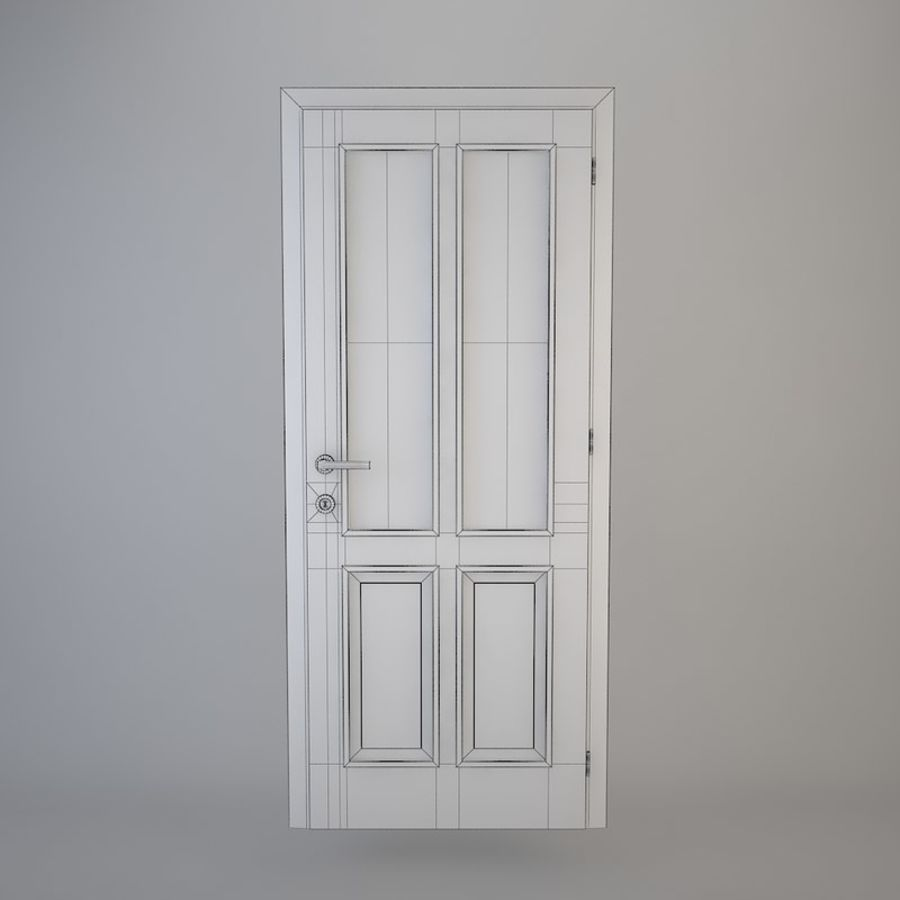 Door 05 royalty-free 3d model - Preview no. 7