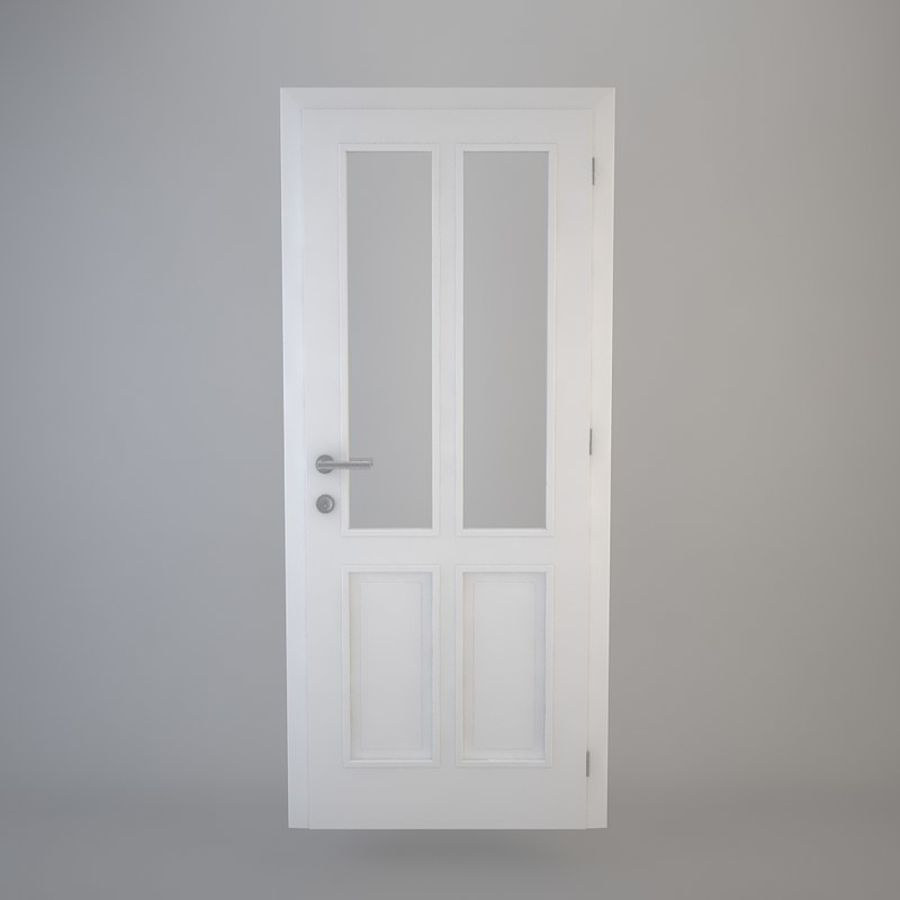 Door 05 royalty-free 3d model - Preview no. 2