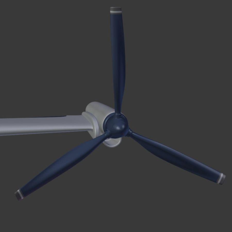 航空機_VTOL royalty-free 3d model - Preview no. 14