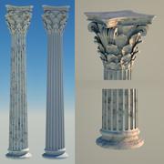 Corinthian Column 8 3d model