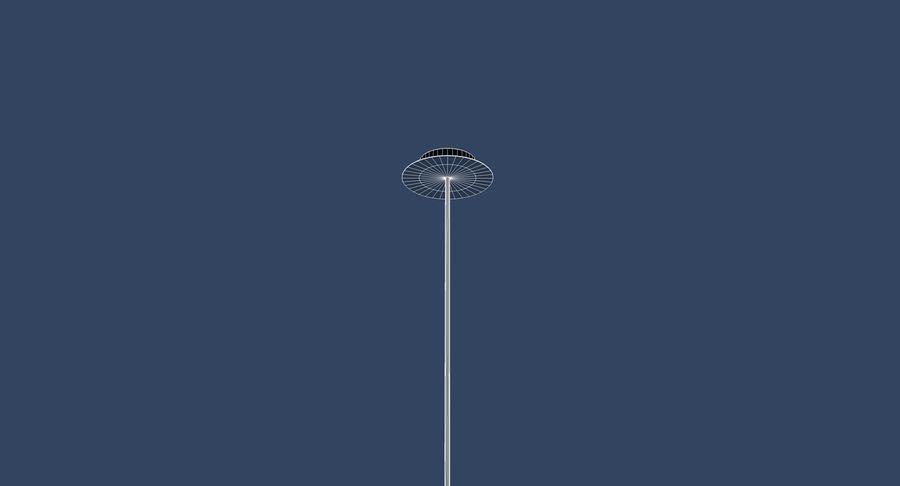 Carlton vintage lamp royalty-free 3d model - Preview no. 8