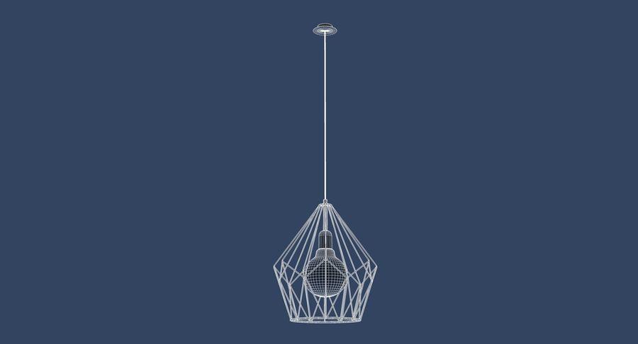 Carlton vintage lamp royalty-free 3d model - Preview no. 6