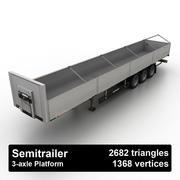 Semitrailer Platform 3d model