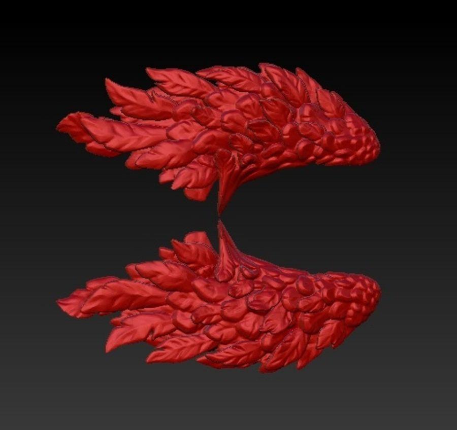 双翼 royalty-free 3d model - Preview no. 1