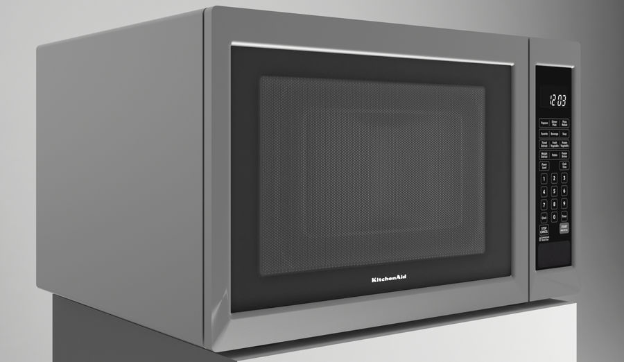 Microwave royalty-free 3d model - Preview no. 1