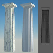 Doric Column 6 3d model
