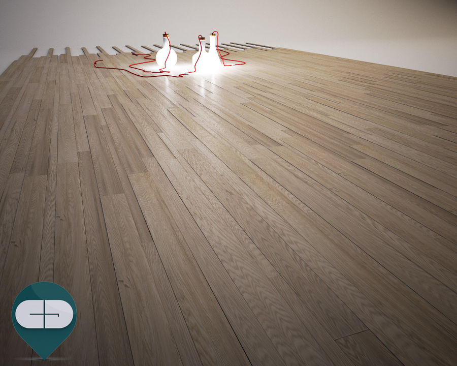 Wood flooring(1) 3D Model $14 -  unknown  obj  fbx  3ds  c4d