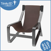Toro Lounge Chair 3d model