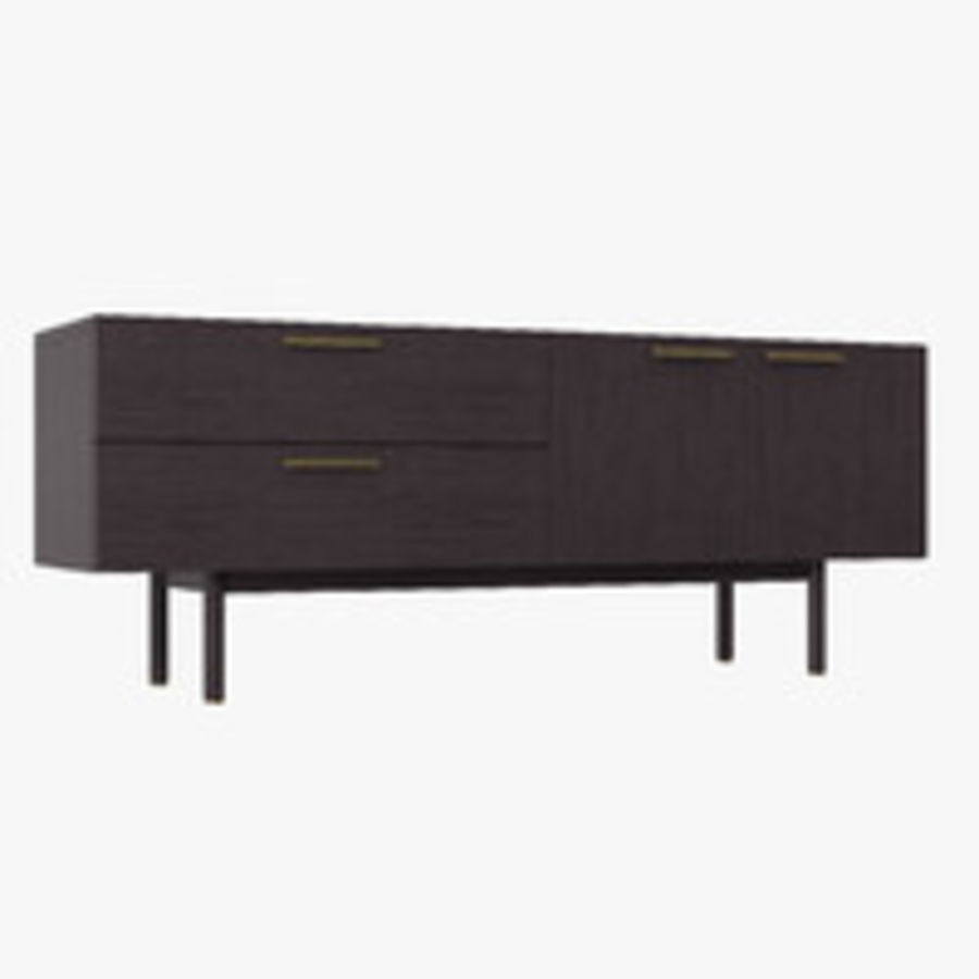 Shale Dresser royalty-free 3d model - Preview no. 2
