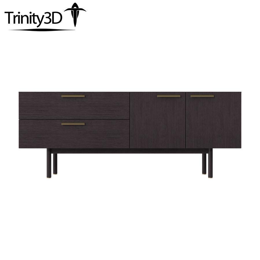 Shale Dresser royalty-free 3d model - Preview no. 3