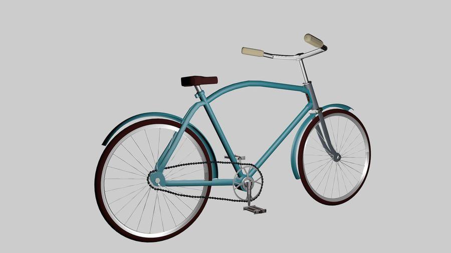Bicicleta rusa Eaglet royalty-free modelo 3d - Preview no. 4