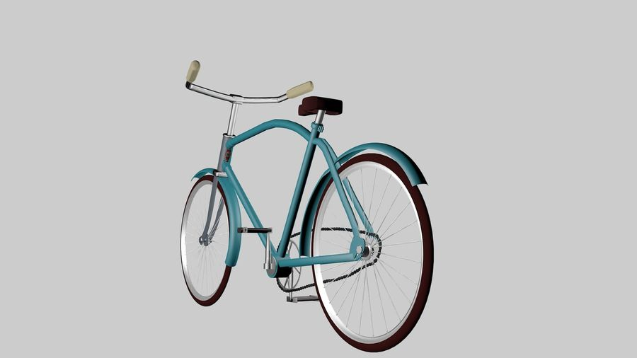 Bicicleta rusa Eaglet royalty-free modelo 3d - Preview no. 5