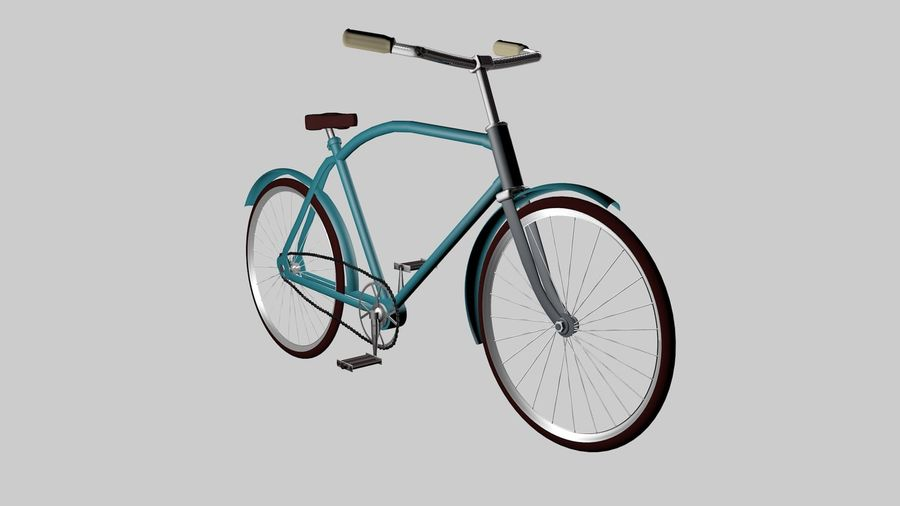 Bicicleta rusa Eaglet royalty-free modelo 3d - Preview no. 1