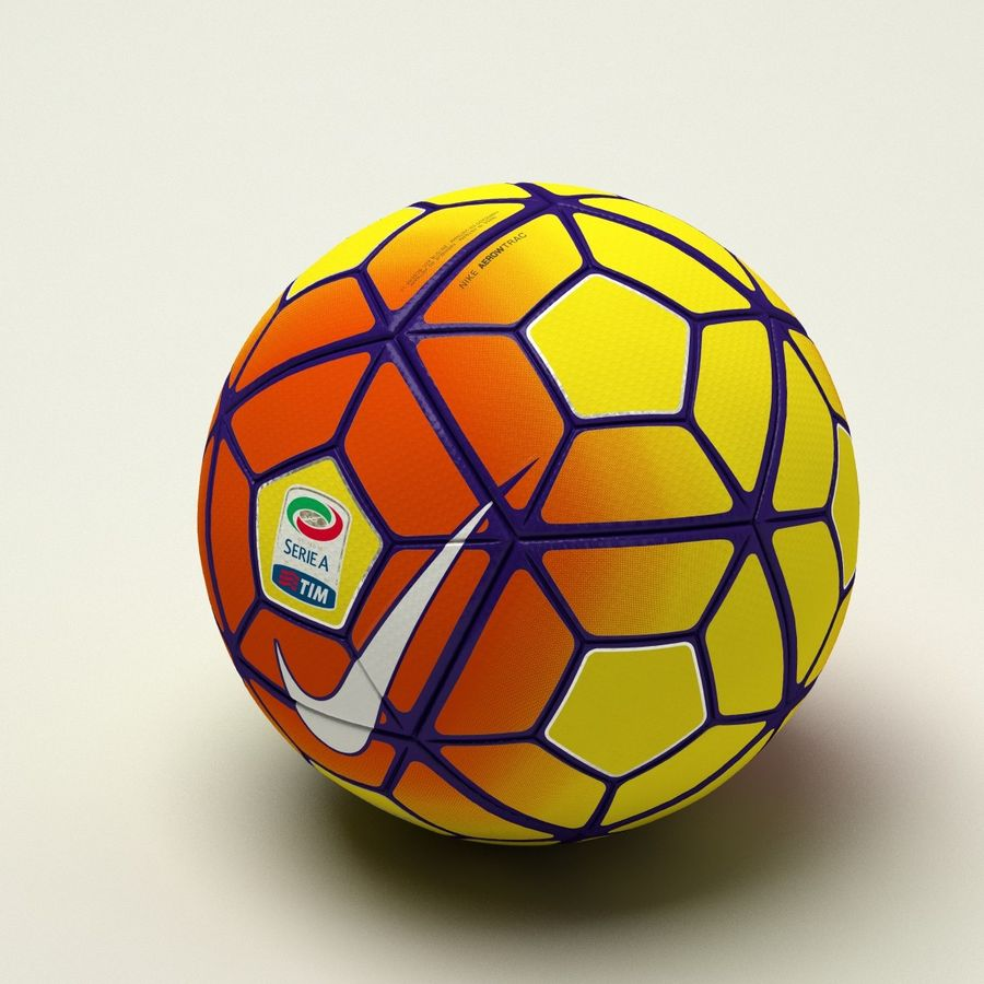 Nike Ordem 3 Serie A HiVis Winter royalty-free 3d model - Preview no. 3