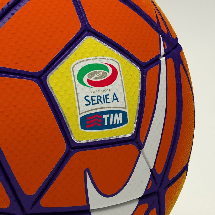 Nike Ordem 3 Serie A HiVis Winter royalty-free 3d model - Preview no. 4