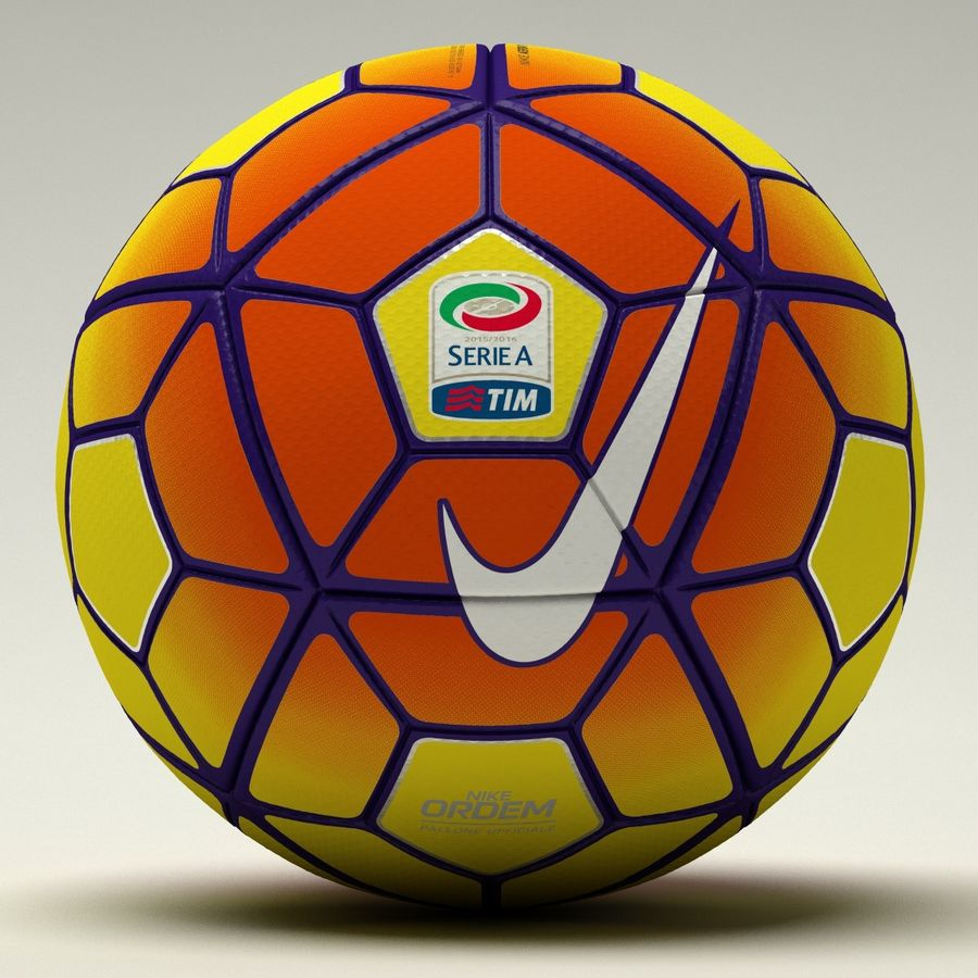 Nike Ordem 3 Serie A HiVis Winter royalty-free 3d model - Preview no. 2