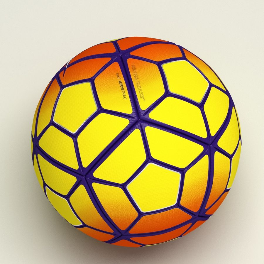 Nike Ordem 3 Serie A HiVis Winter royalty-free 3d model - Preview no. 7