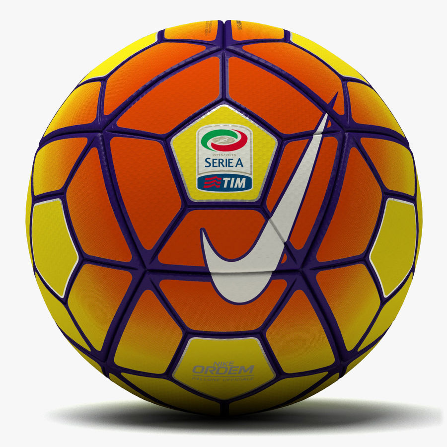 Nike Ordem 3 Serie A HiVis Winter royalty-free 3d model - Preview no. 1