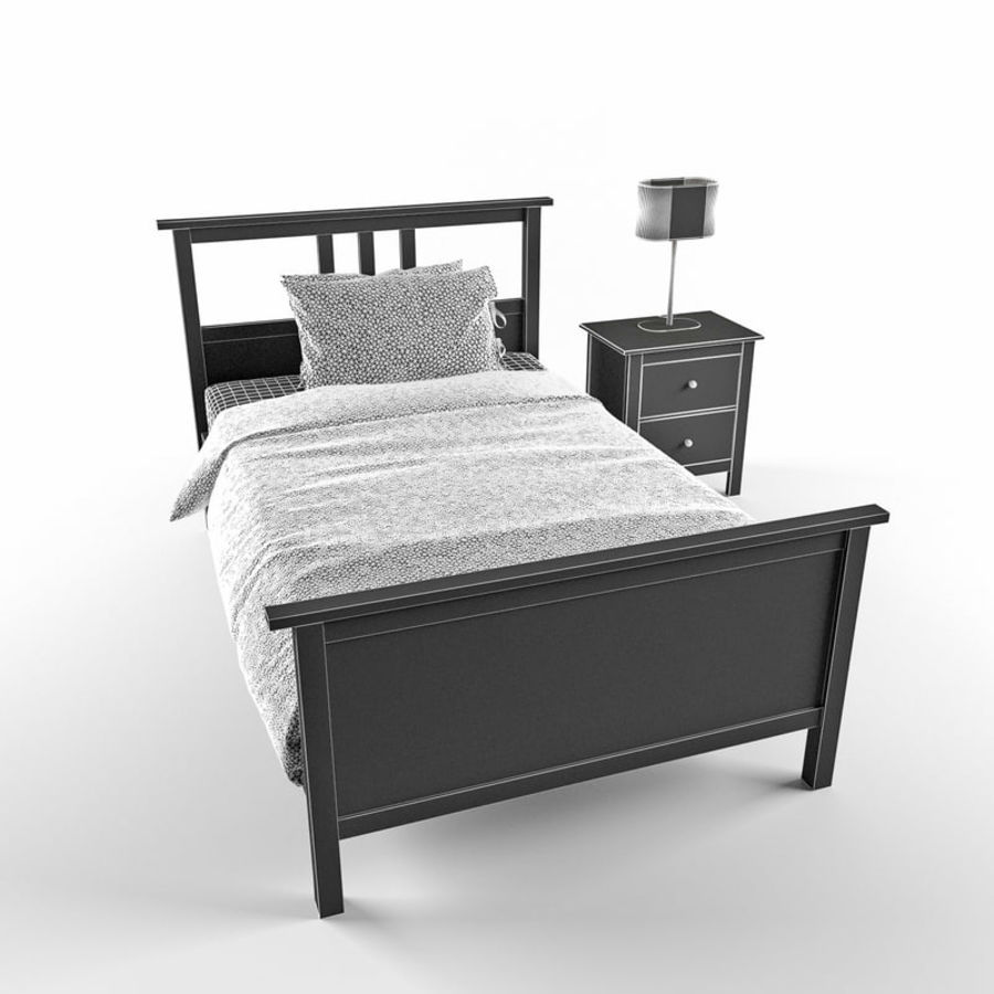 Hemnes royalty-free 3d model - Preview no. 3