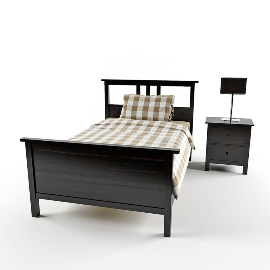 Hemnes royalty-free 3d model - Preview no. 5