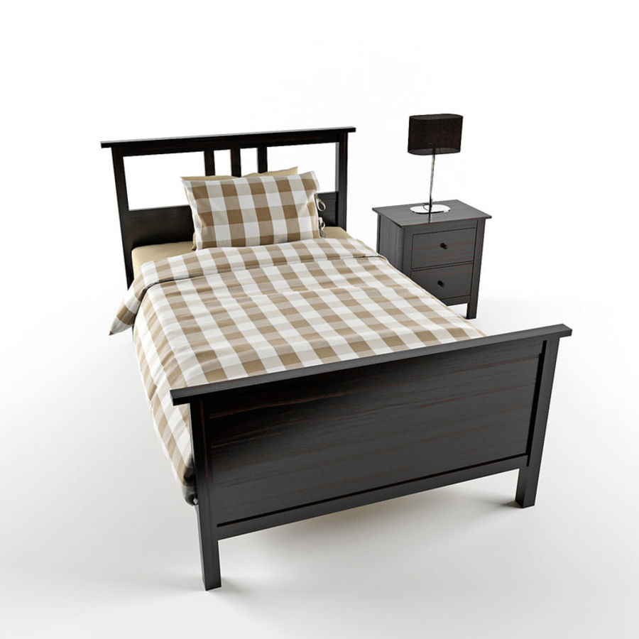 Hemnes royalty-free 3d model - Preview no. 6