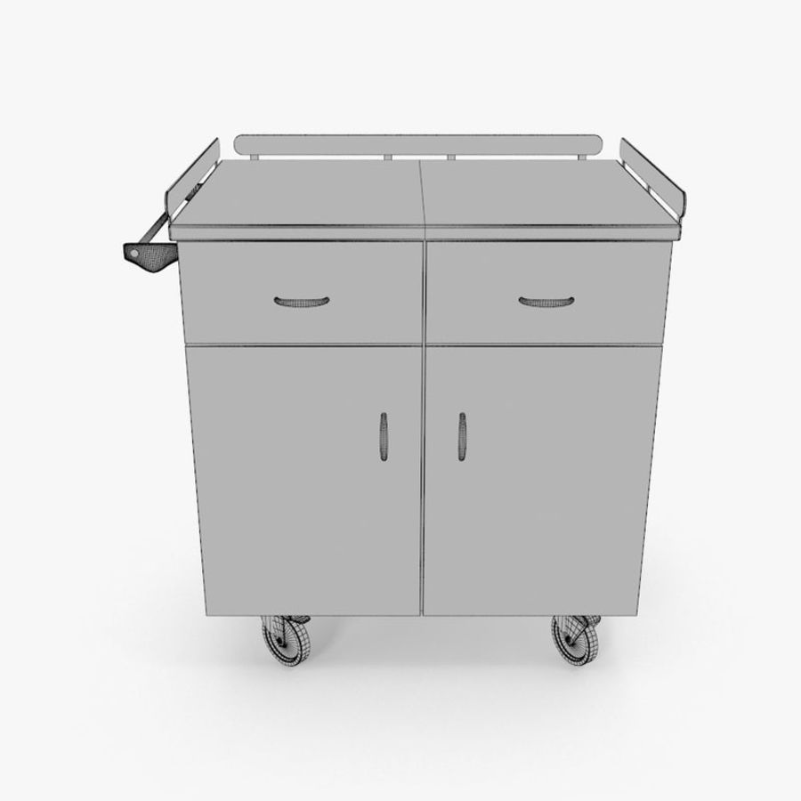 Metal Cabinets M3 royalty-free 3d model - Preview no. 12