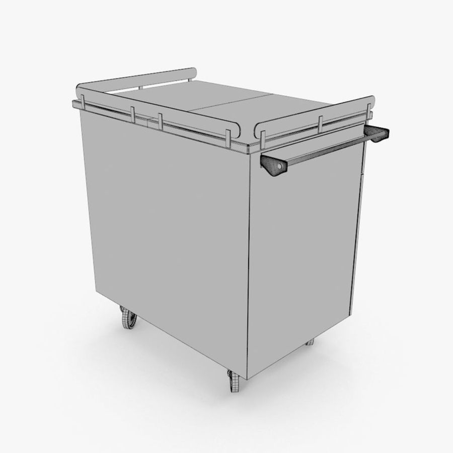 Metal Cabinets M3 royalty-free 3d model - Preview no. 17
