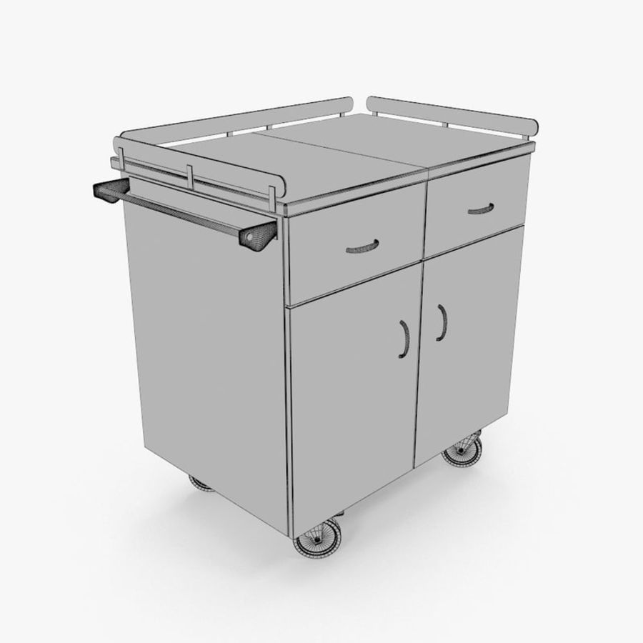 Metal Cabinets M3 royalty-free 3d model - Preview no. 19