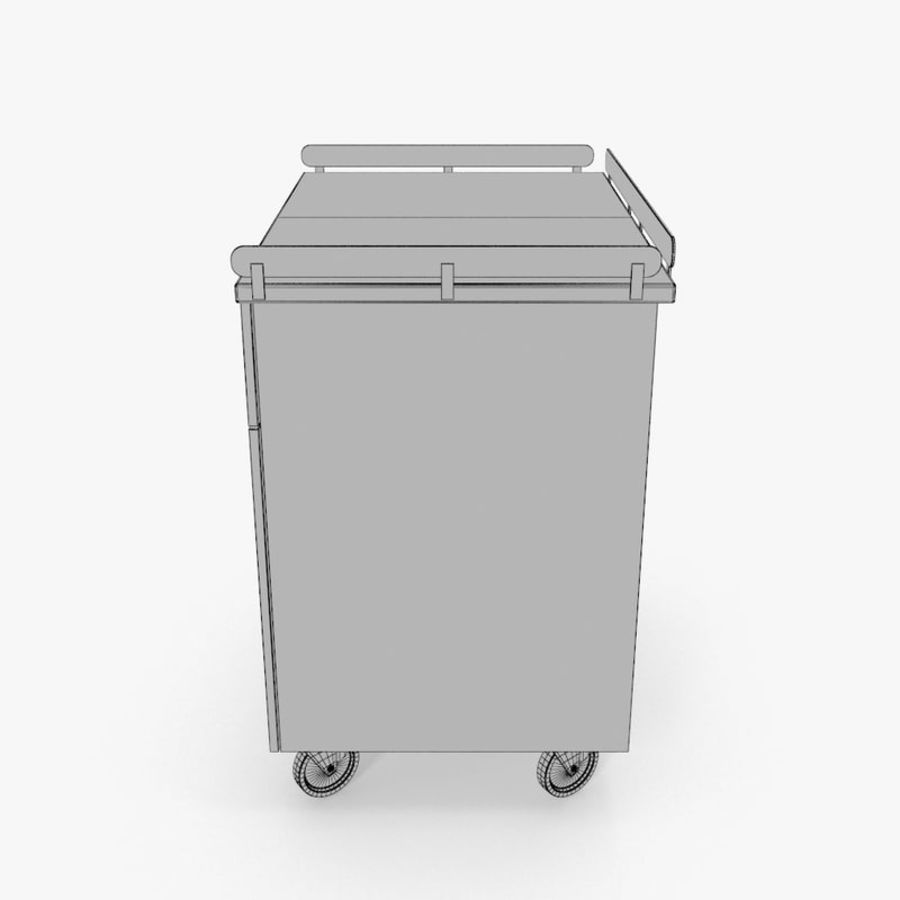 Metal Cabinets M3 royalty-free 3d model - Preview no. 14