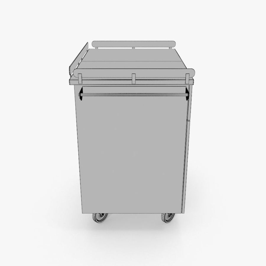 Metal Cabinets M3 royalty-free 3d model - Preview no. 18