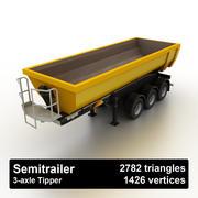 Semitrailer Tipper Dump 3d model
