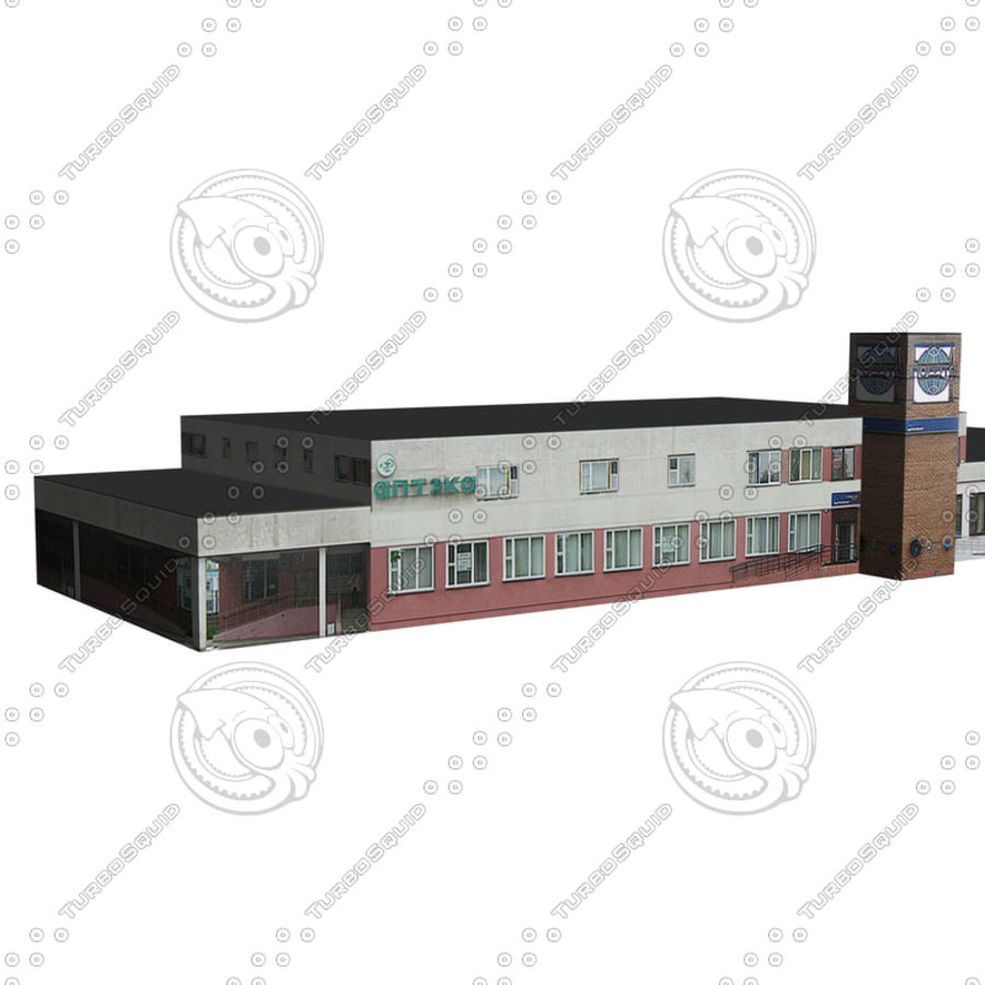 House_Environment186 royalty-free 3d model - Preview no. 3