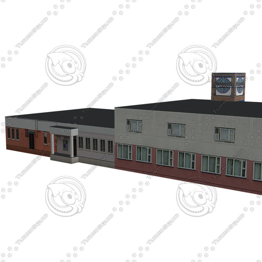 House_Environment186 royalty-free 3d model - Preview no. 7
