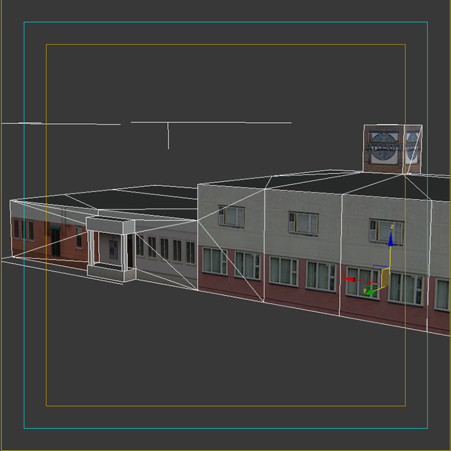 House_Environment186 royalty-free 3d model - Preview no. 16
