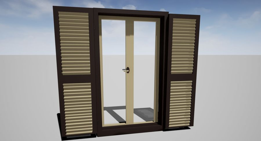 Window Blinds royalty-free 3d model - Preview no. 1