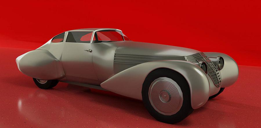 Antique Car royalty-free 3d model - Preview no. 1
