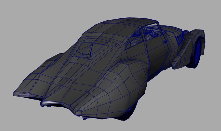 Antique Car royalty-free 3d model - Preview no. 3